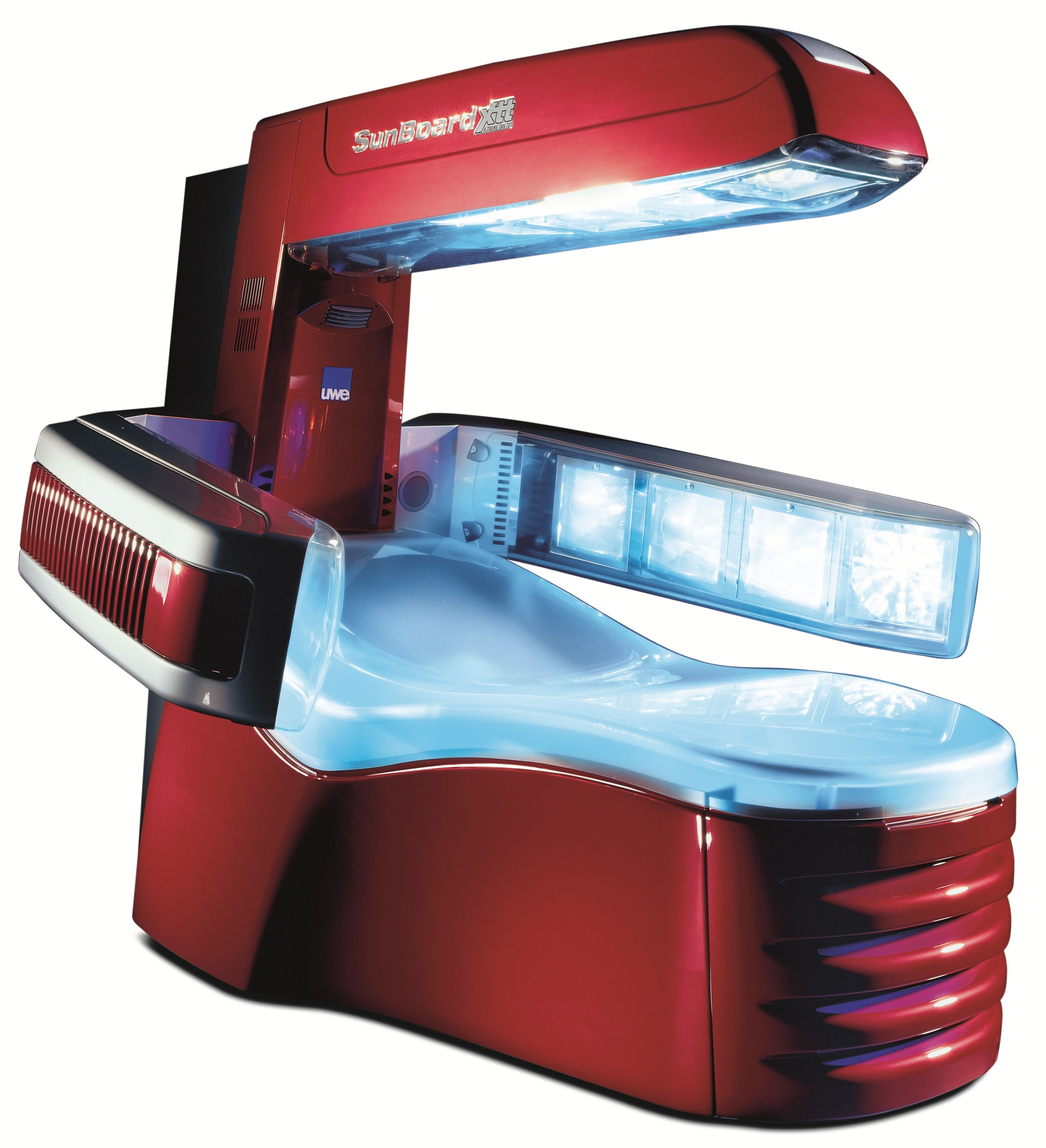 Sunboard XTT by UWE is one of the most fortable tanning beds