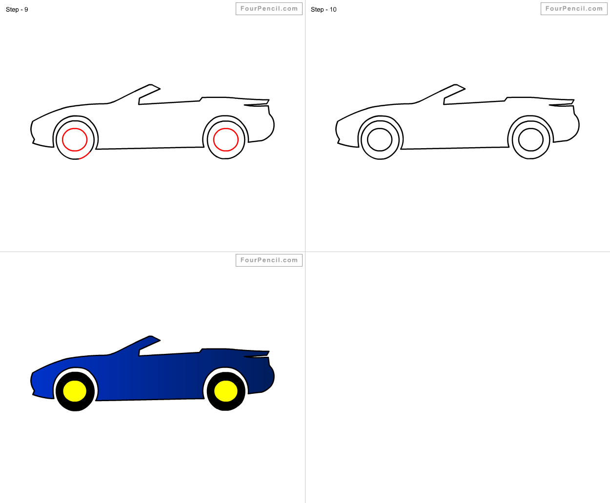 how to draw racing car for kids step by step drawing tutorial draw racing car