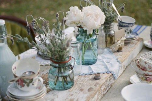 Decoratie idee n voor je tuinfeest met and bloemen - Outdoor decoratie ideeen ...