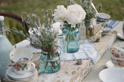 Decoratie ideeën voor je tuinfeest feestje table table settings