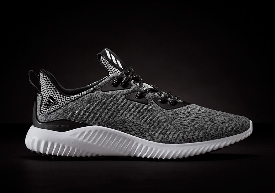 best service 4bf3a 4eed5 AlphaBOUNCE with new Engineered Mesh tooling throughout the upper. Adidas  Men, Adidas Sneakers,