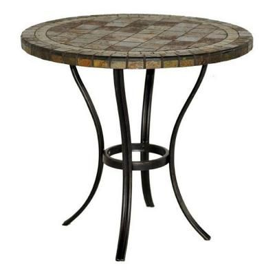 Search Results For 202820259 At The Home Depot Slate Patio Contemporary Patio Furniture Patio Table