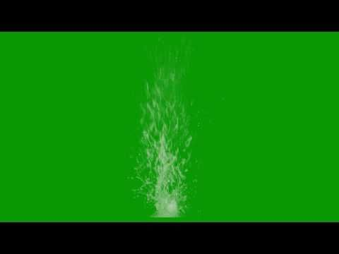 Full Hd Green Screen Water Blast Effects Green Screen Video Backgrounds Greenscreen Chroma Key