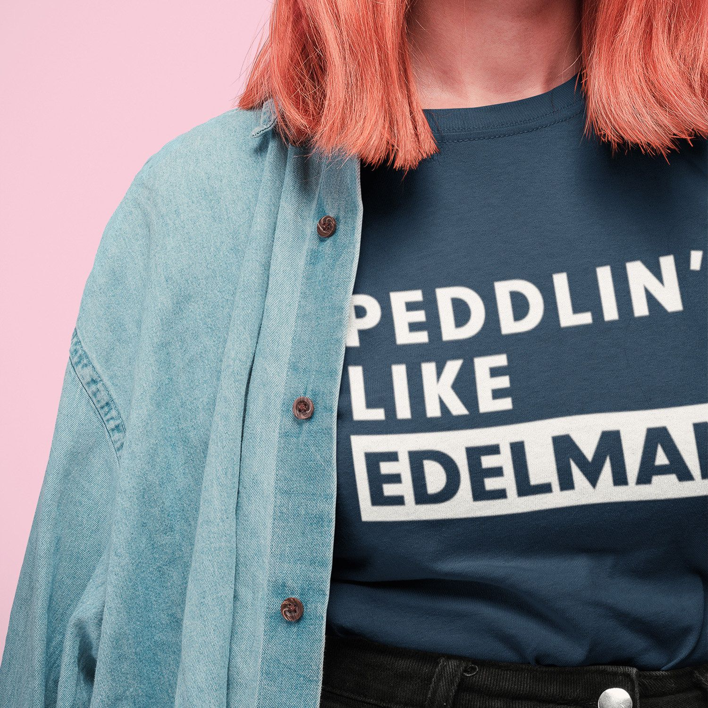 Peddlin Like Edelman Shirt New England Patriots Shirt Julian Edelman Shirt Funny Tee Game Day Outfit Nfl Shirt Gameday Outfit Patriotic Shirts Nfl Shirts