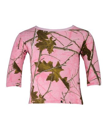 Pink Camo Long-Sleeve Tee - Infant, Toddler & Girls