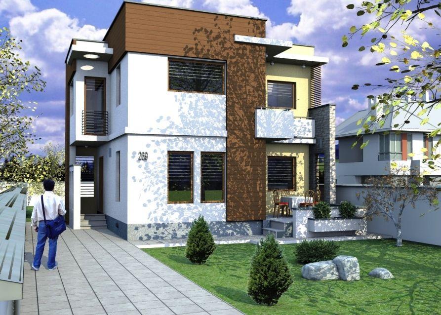 House project casa moderna ideas for Casa moderna romania