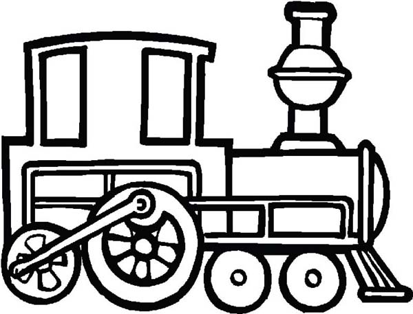 Draw A Steam Train Coloring Page Netart Train Coloring Pages Coloring Pages Alphabet Quilt