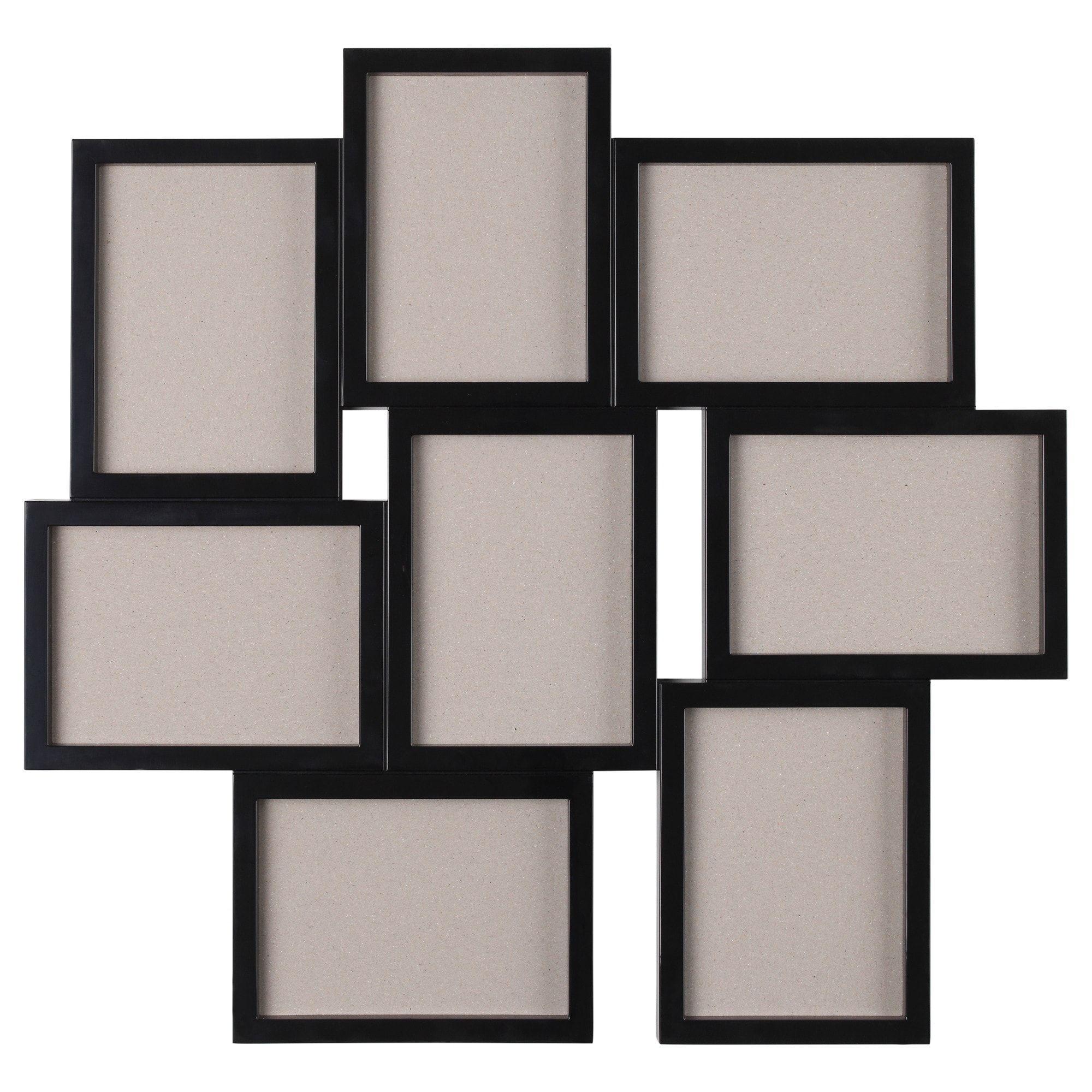"VÄXBO Collage frame for 8 photos black 5x7 "" (13x18 cm"