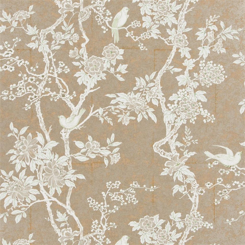 Marlowe Floral Sterling Wallpaper Ralph Lauren Floral