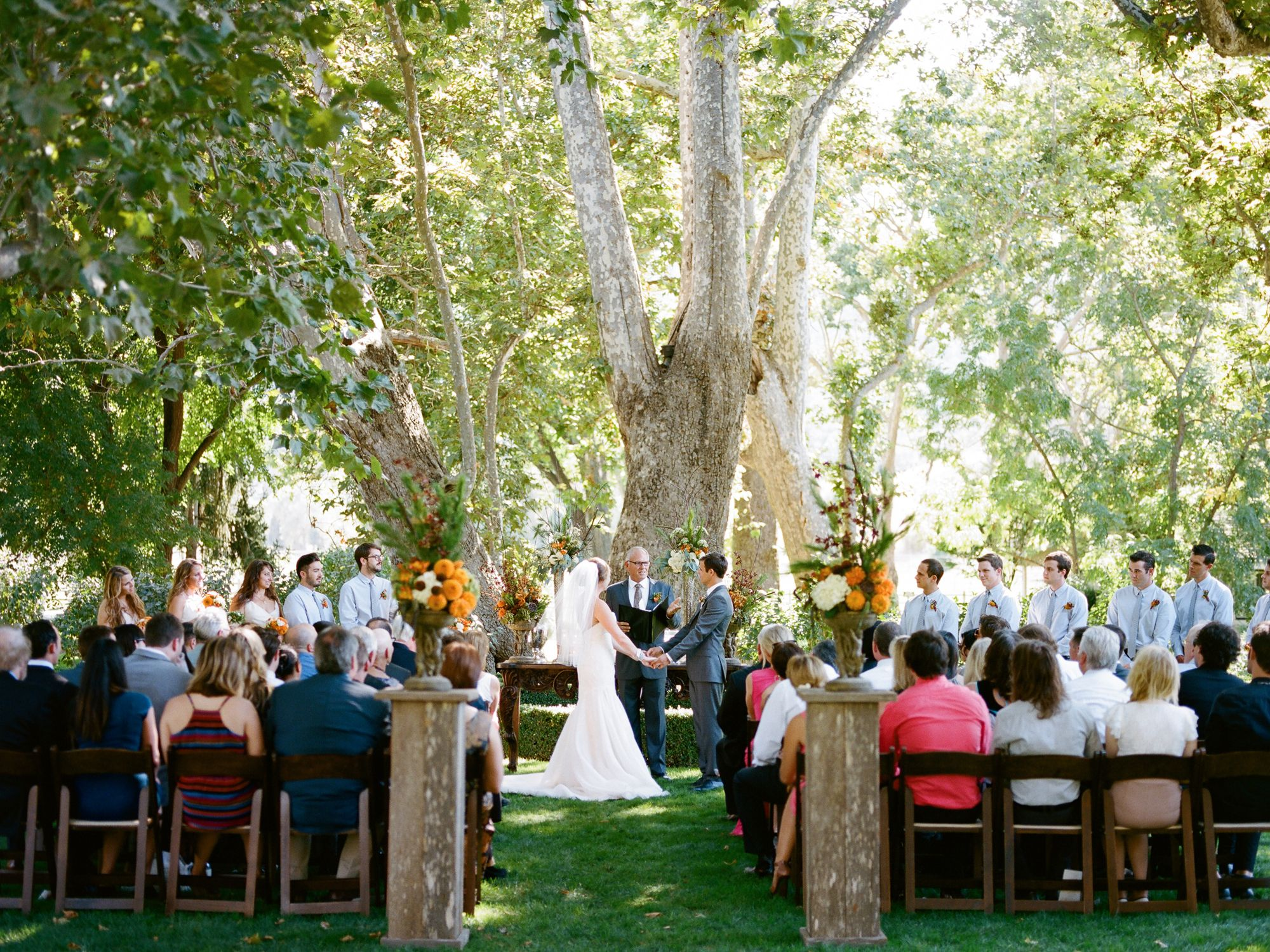 A Traditional Wedding Ceremony Order Of Events