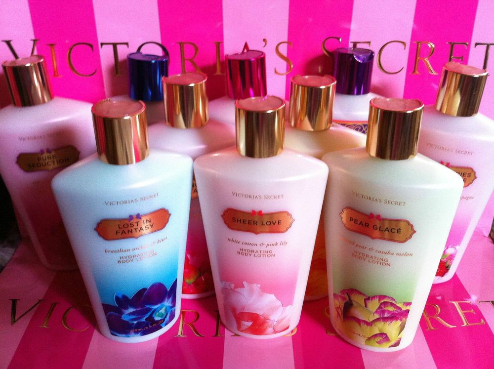 1 Victoria S Secret Fantasies Body Lotion Cream Creme Hidratante