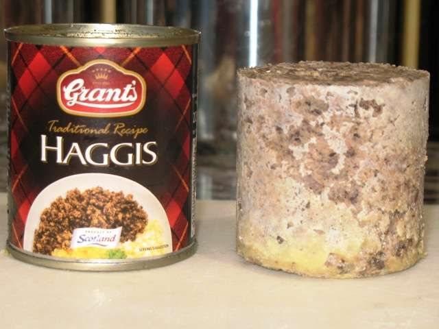 Scottish butchers have compiled a number of extravagant ingredients to create the world's most expensive haggis. Description from freerepublic.com. I searched for this on bing.com/images