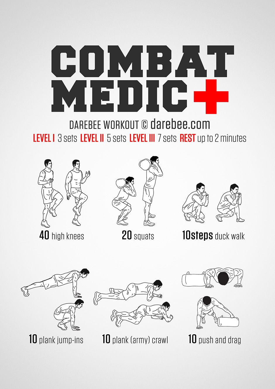 Combat Medic Workout  When there is a