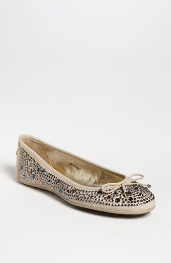 Jimmy Choo 'Weber' Flat $495! These flats are adorable and super comfortable!