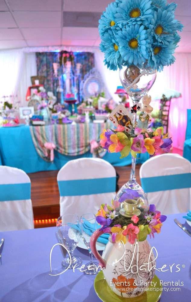 Alice in Wonderland Quinceaera Party Ideas