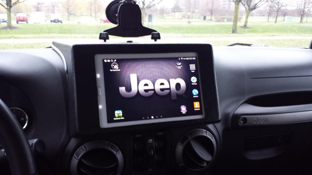How Do You Mount Your Ipad Jeep Wrangler Forum Jeep Wrangler