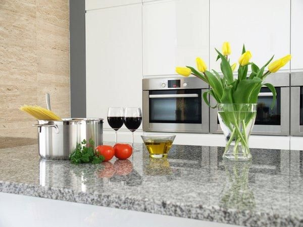 Moderne Granit-Arbeitsplatten Luna Perle Granit Arbeitsplatte - küchen granit arbeitsplatten