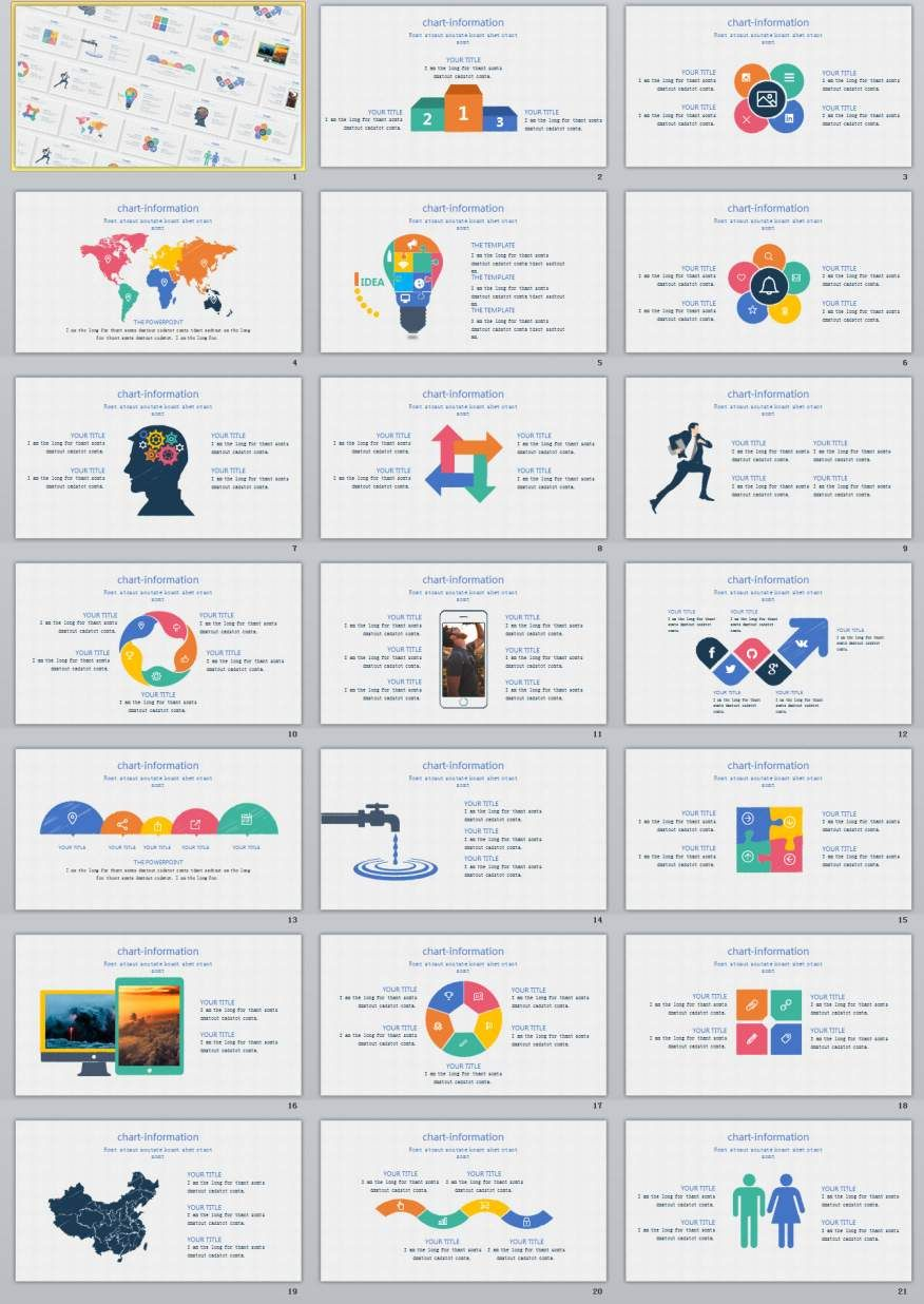 21 chart information powerpoint template 2018 best infographics 21 chart information powerpoint template toneelgroepblik Image collections