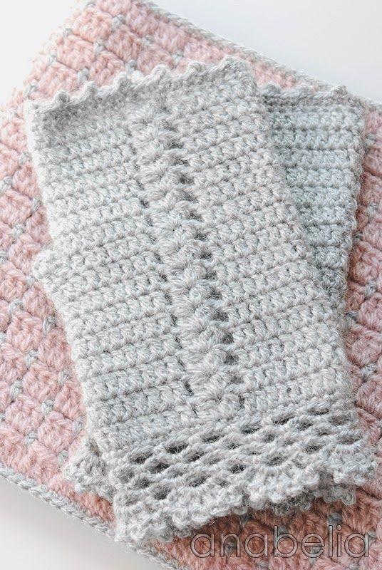 Pink winter crochet set by Anabelia | guantes | Pinterest | Entrar ...