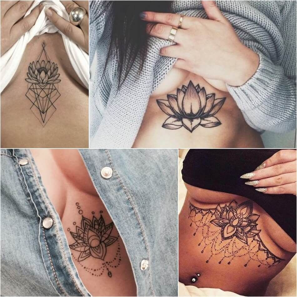 Lotus Flower Tattoo Female Lotus Tattoos Designs With Meaning Tattoos For Women Sleeve Tattoos For Women Tattoos For Women Small