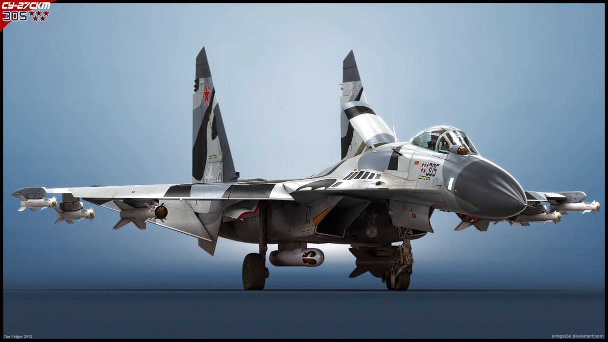 Su 27skm 305 V1 By Siregar3d With Images Fighter Jets Ace