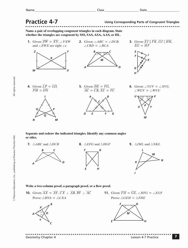Midsegment theorem Worksheet Answer Key Lovely 4 3