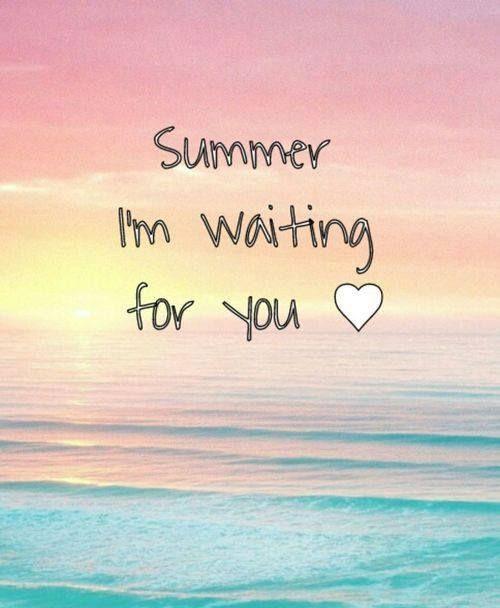 Summer · Summer · Beach Ocean QuotesSummer QuotesItu0027s SummertimeWaiting ...