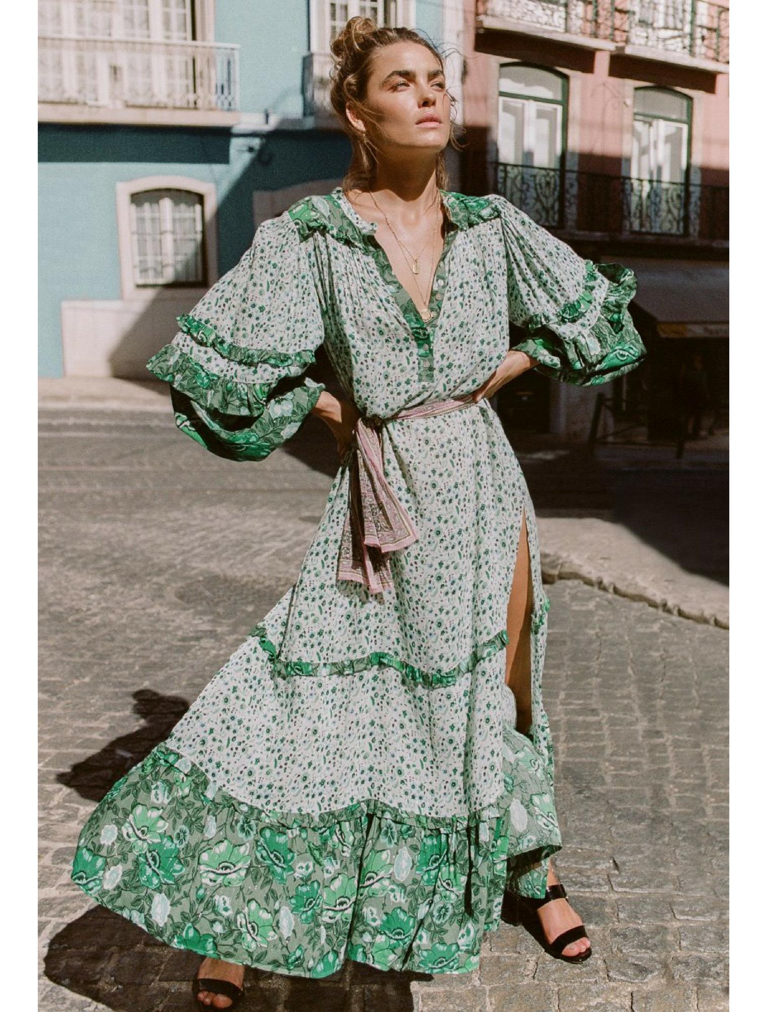 1f68c5a54baac Winona Boho Maxi | Outfit Ideas in 2019 | Fashion, Dresses, Boho dress