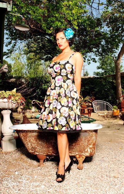 Calacas Dress