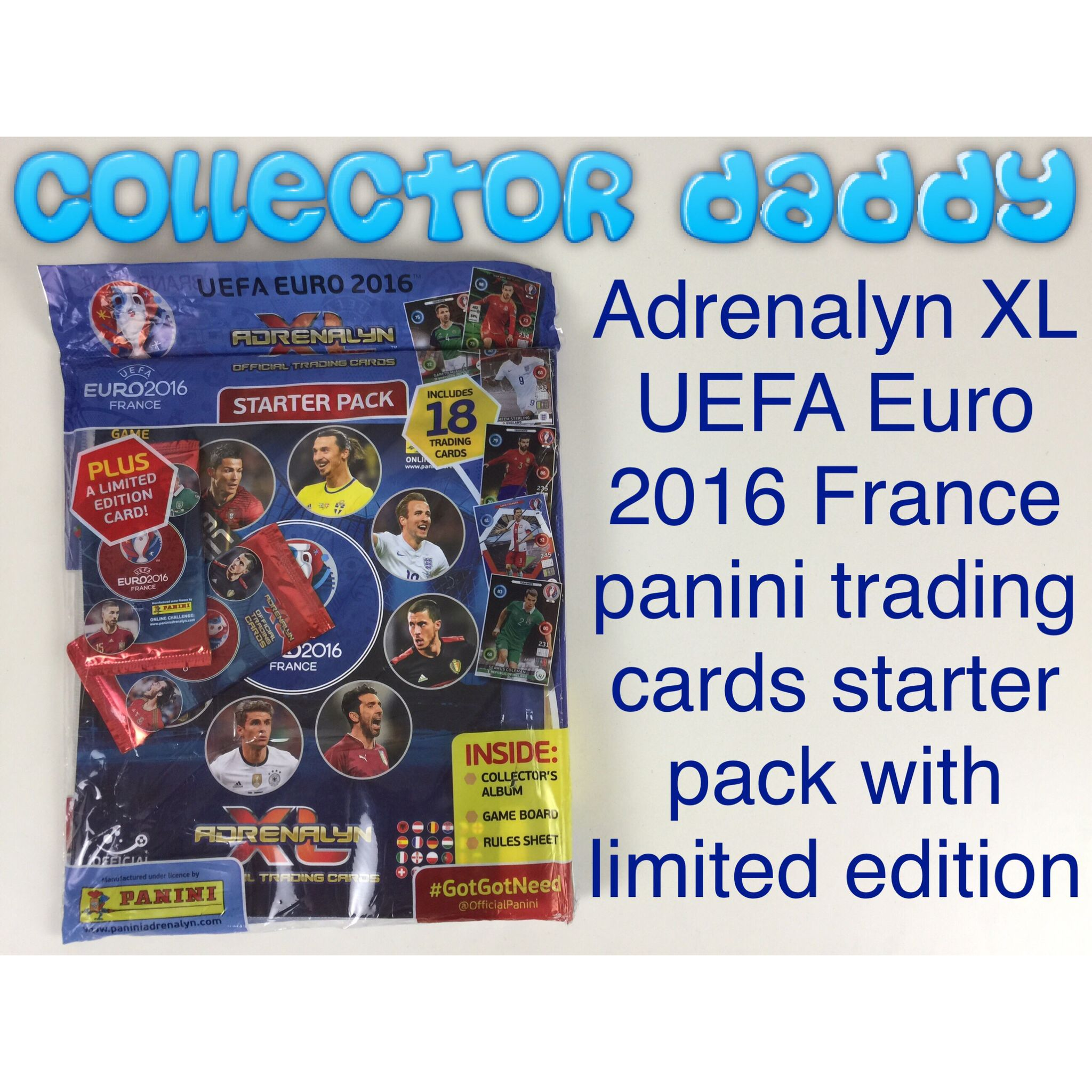 UEFA Euro 2016 France Adrenalyn XL panini trading cards