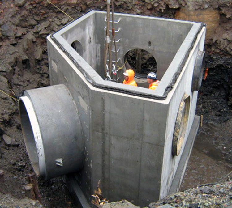 Custom Precast Concrete Casting Precast Concrete Plumbing Drawing Concrete Forms