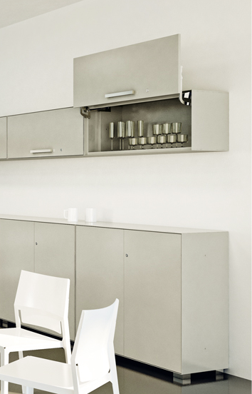 Why not? Kitchen cabinets! | Vertical files by Dieffebi