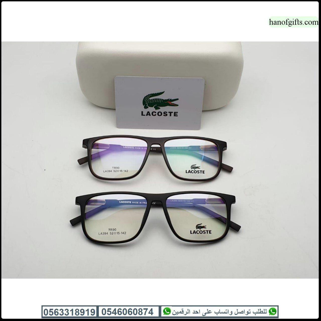 نظارات لاكوست طبيه Lacoste درجه اولى مع كامل ملحقاتها و بنفس الاسم هدايا هنوف Square Sunglass Sunglasses Glasses