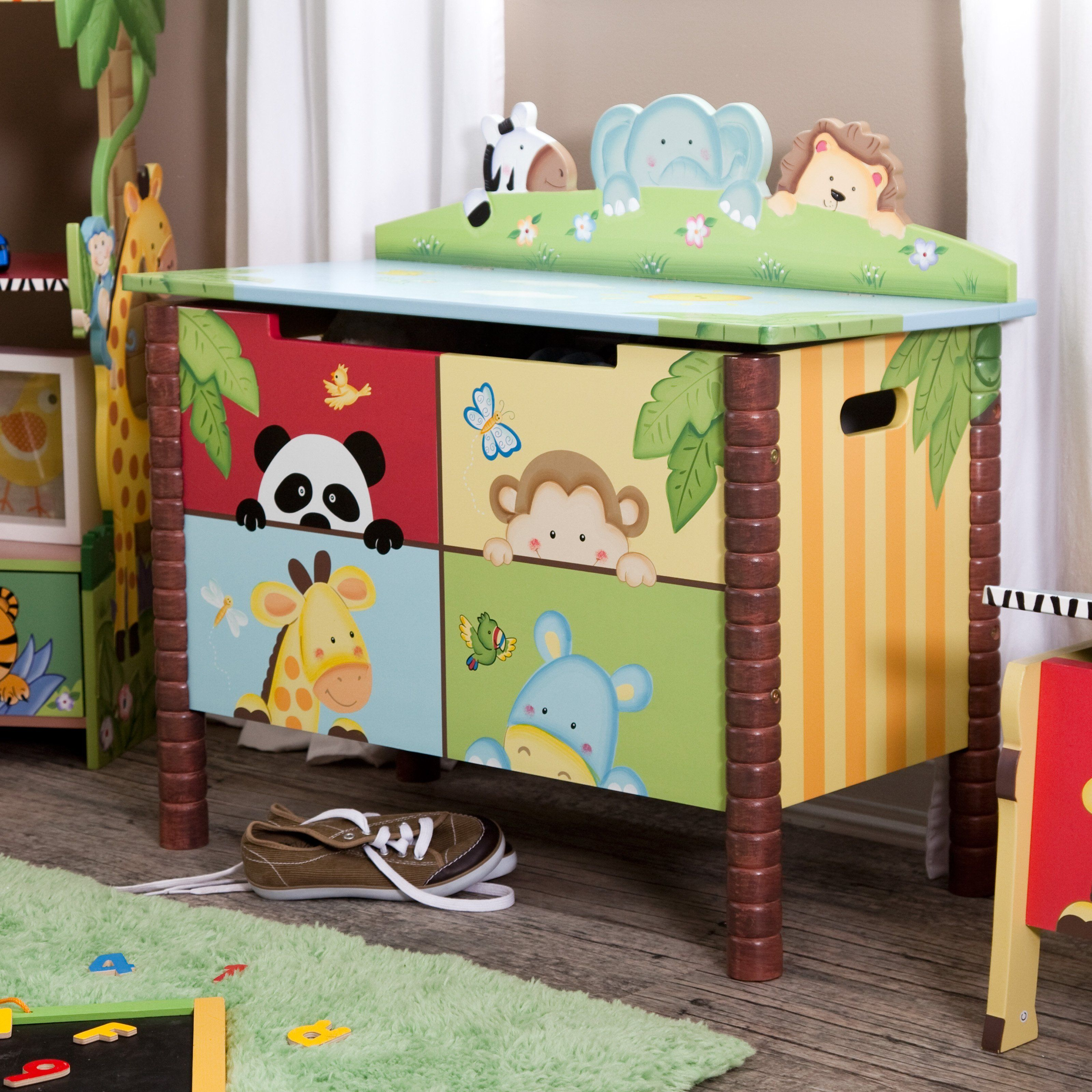 Have To Have It Teamson Sunny Safari Toy Box 129 56 Kids