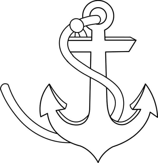 Strong Anchor Coloring Pages Bulk Color Coloring Pages Coloring Pages For Girls Color