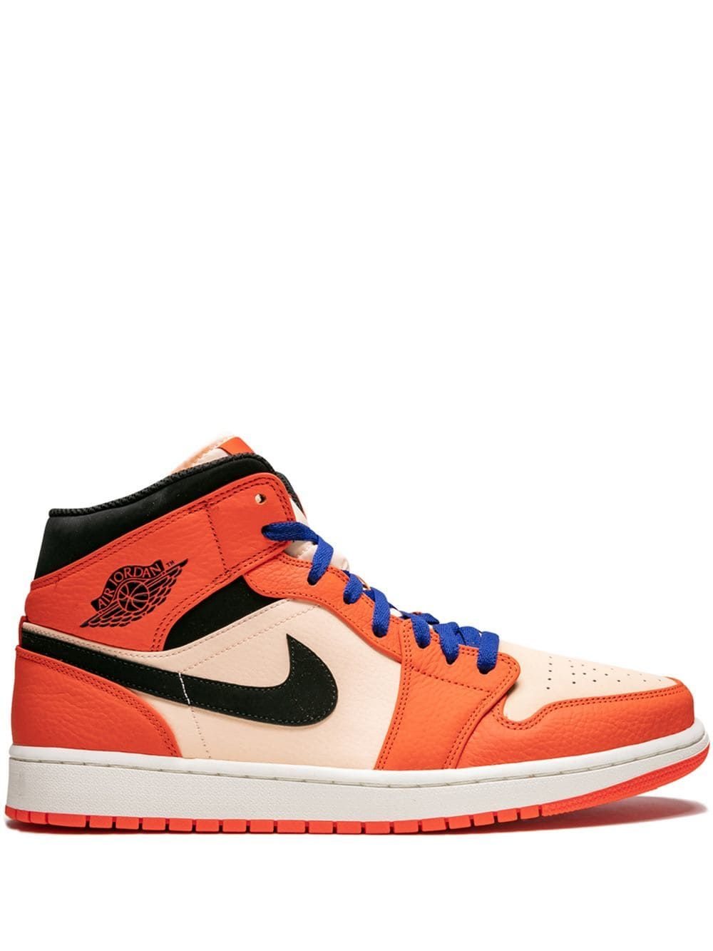 05a0d31568d7b5 JORDAN JORDAN AIR JORDAN 1 MID SE SNEAKERS - ORANGE.  jordan  shoes ...