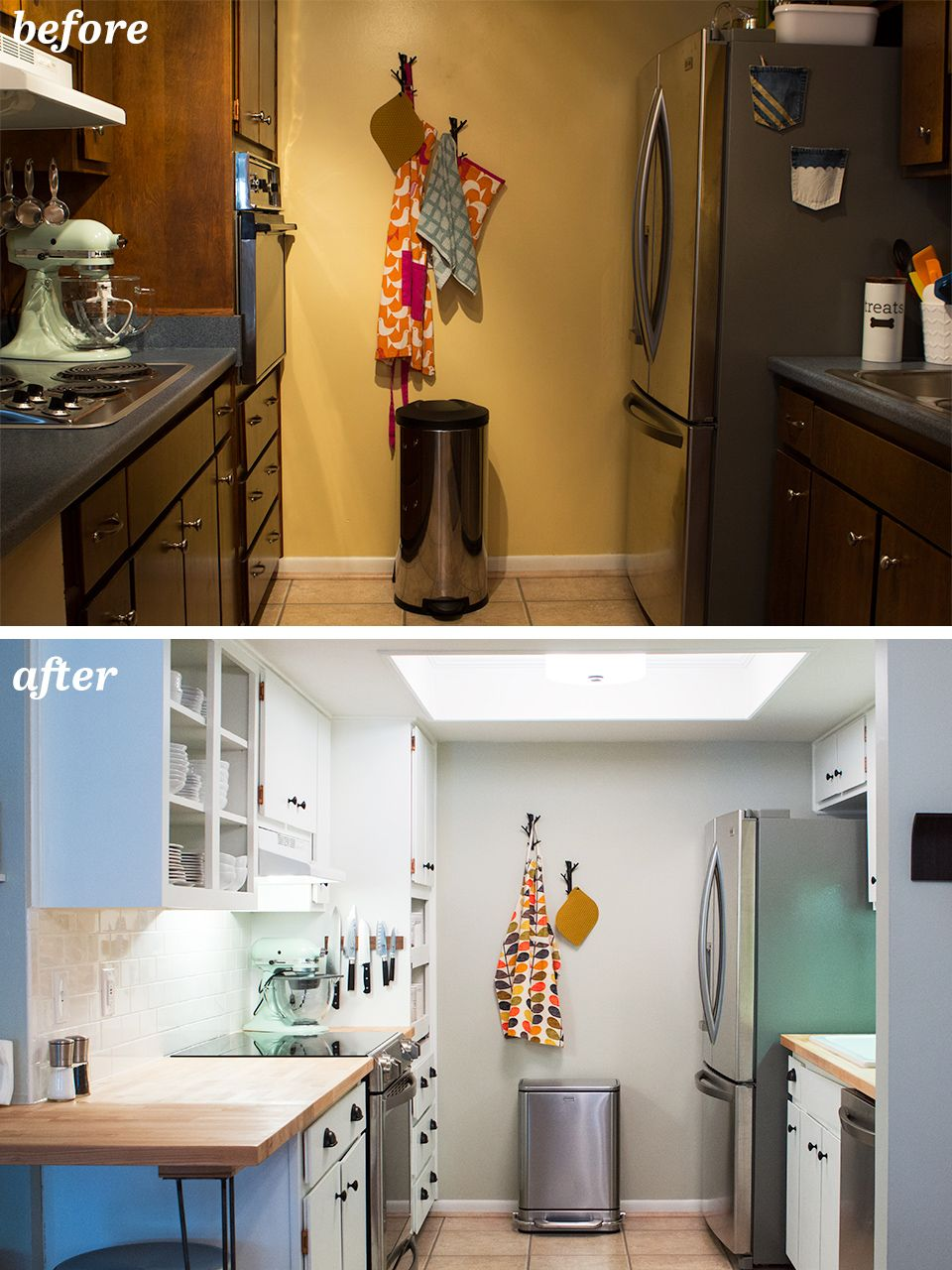 60S Kitchen Diy Small Galley Kitchen Remodel  The O'jays Galley Kitchens And