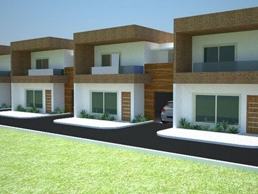 Casas modernas com telhado pesquisa google plantas for Google casas modernas