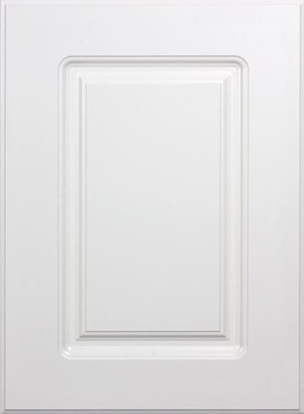 Naples White RTF Raised Square Custom Cabinet Door | Kitchen ...