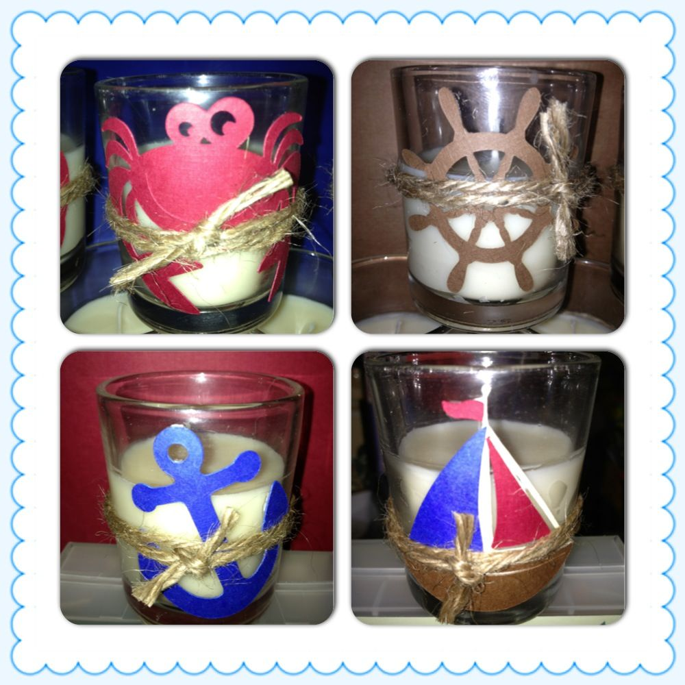 Nautical baby shower party favors let 39 s party for Baby shower nautical decoration