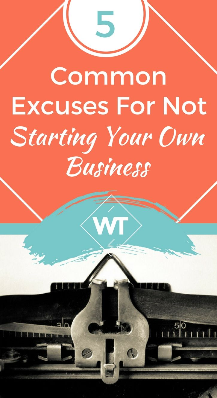 for your starting reasons own business not