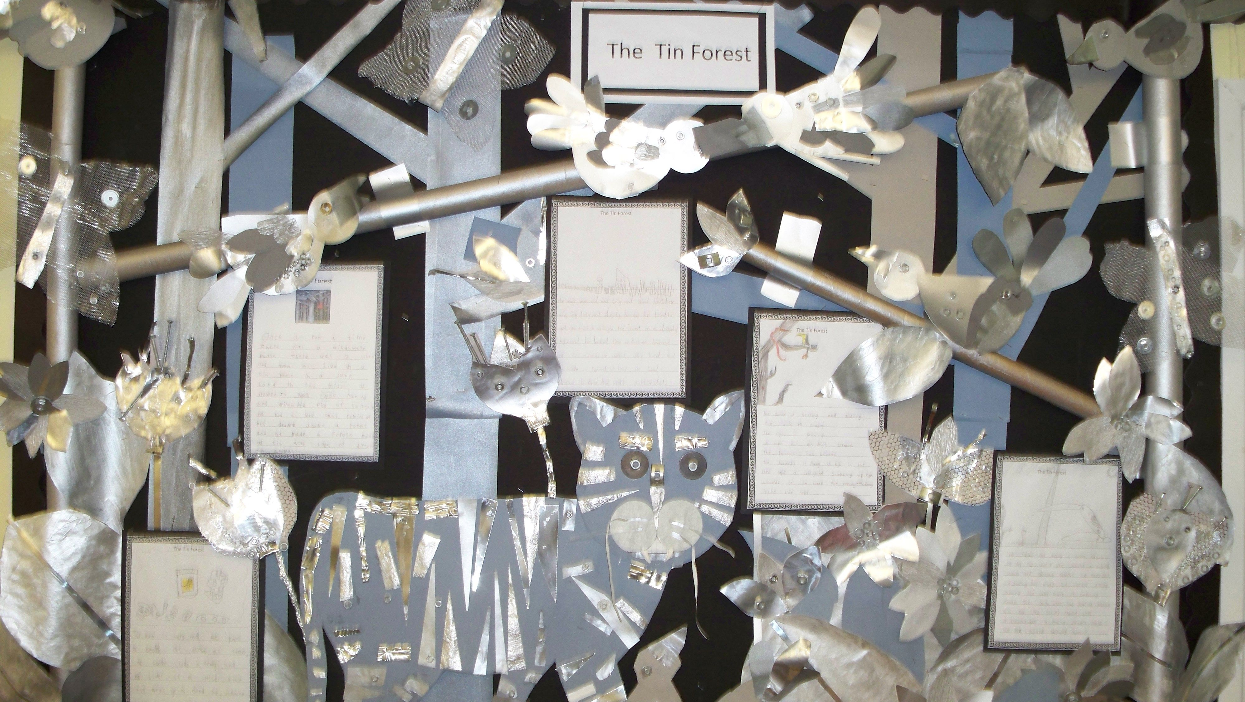 The Tin Forest Display