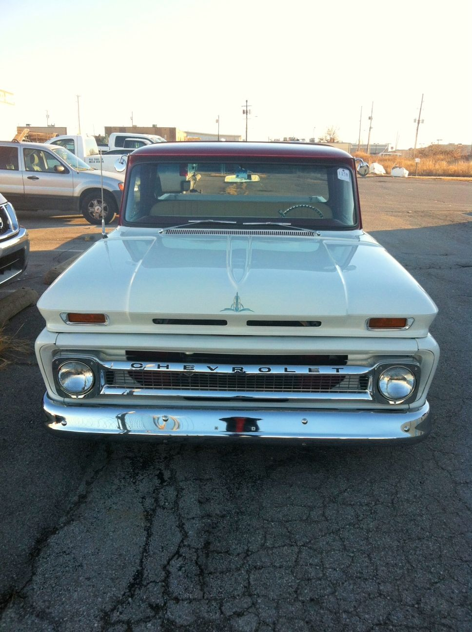 1964 Chevy Truck Grill Inner Fender Restored Updated Installed A Air Quip Inc 968x1296