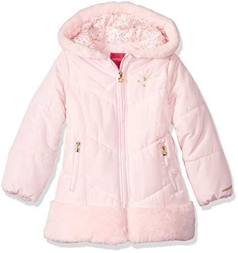f7211a55e287 London Fog Girls  Shine Warm Winter Jacket (6X