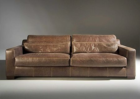 tango ledersofa braun vintage naturleder moderne ledercouch braun vintage natur ebay boat. Black Bedroom Furniture Sets. Home Design Ideas