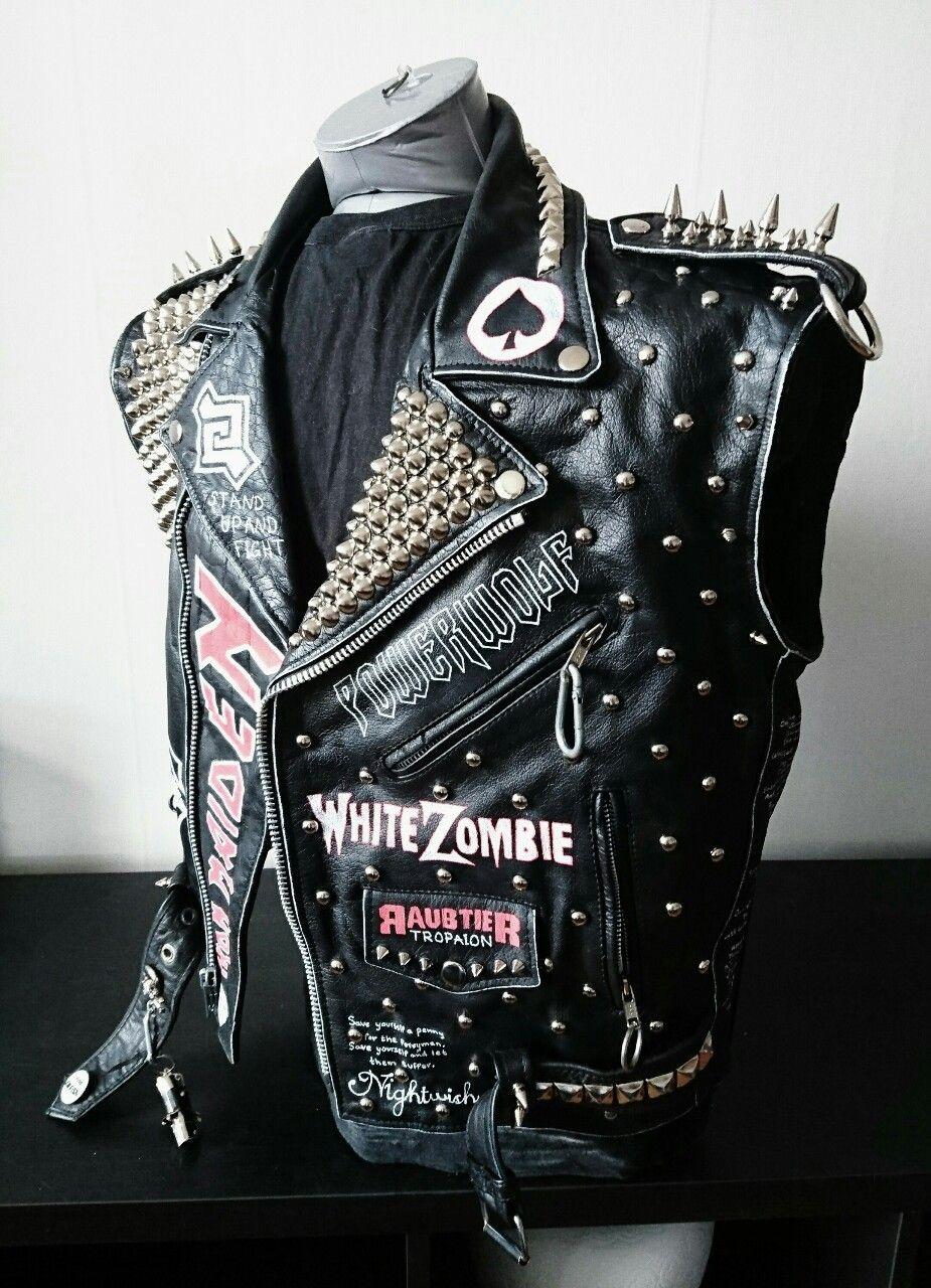 Black Jean Vest For Women