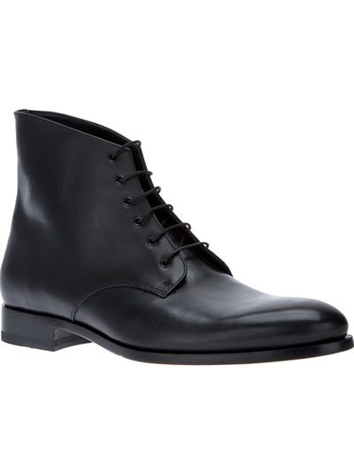 ERIK BJERKESJÖ 'Bulgaro' Lace-Up Ankle Boot