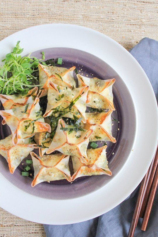 Recipe: Baked Vegetable Wontons — Recipes from The Kitchn