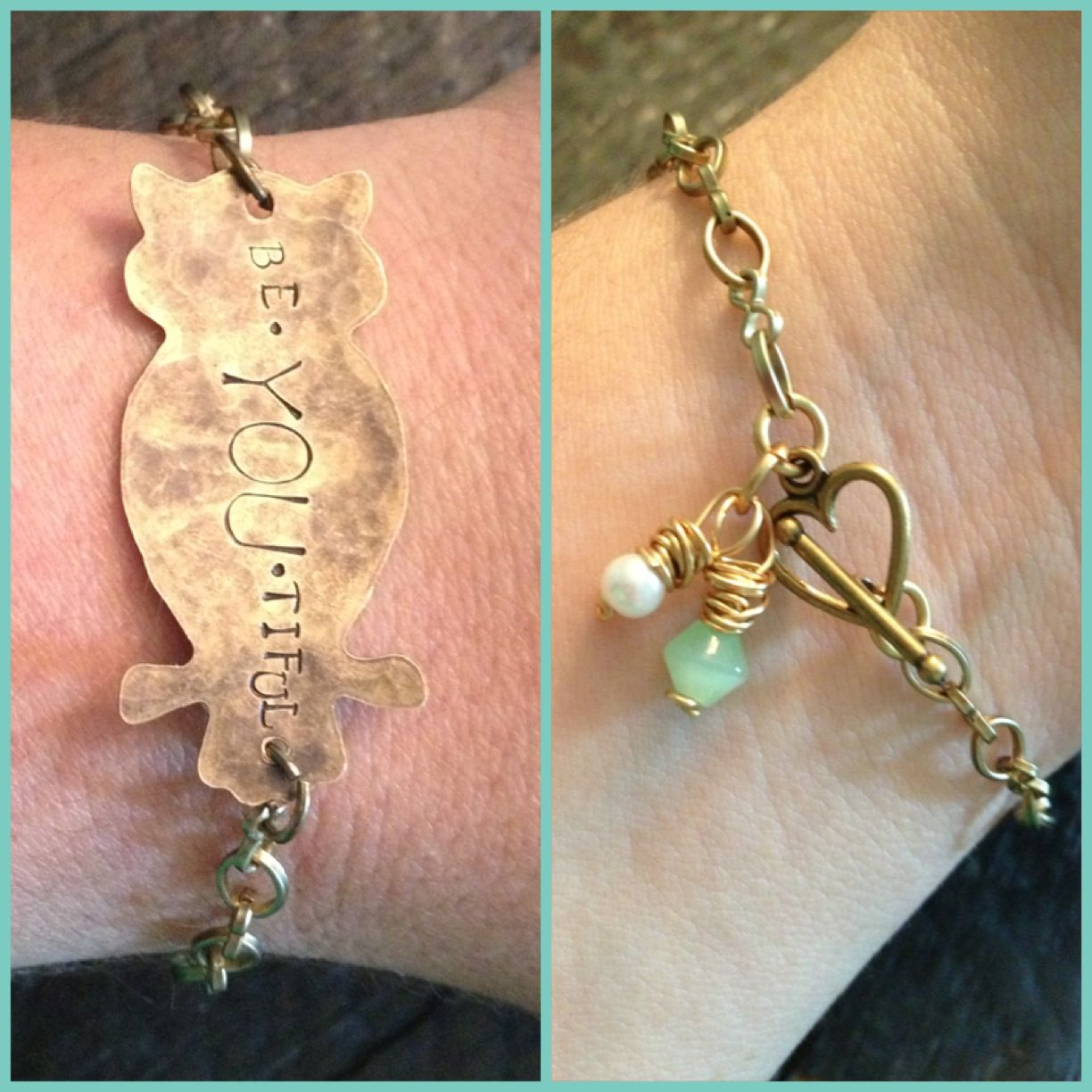 be.YOU.tiful bracelet from Treasured Trinkets find on Facebook