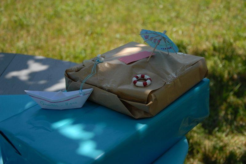 """Paquet cadeau """"Bord de mer"""" ;)"""